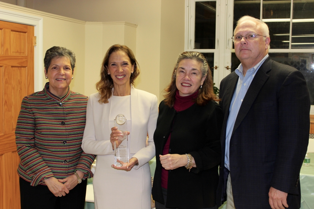 Assemblywoman Amy Paulin was recently honored at the Adult Computer Class Graduation at El Centro Hispano in White Plains.