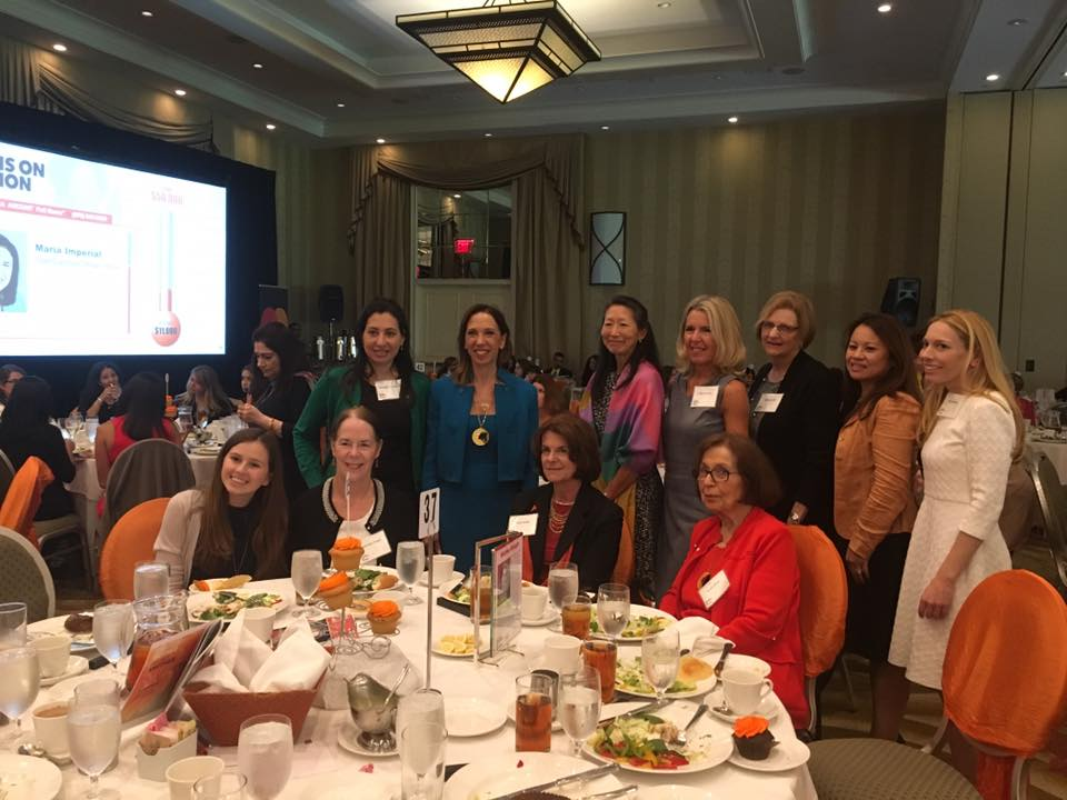 Assemblywoman Paulin was proud to have her current and former staff members with her as she was inducted into The Westchester Women's Hall of Fame.