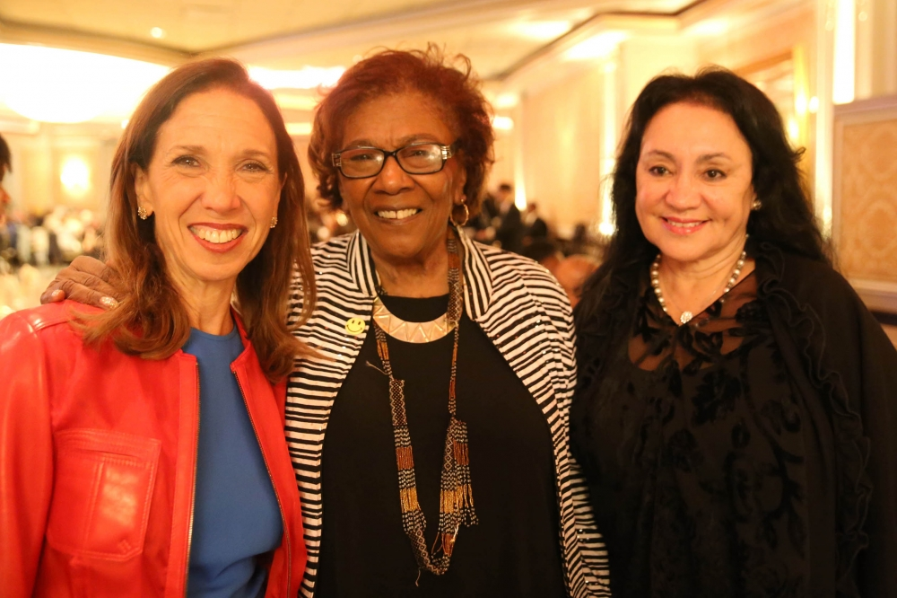 "Assemblywoman Amy Paulin went to the It Takes A Village To Educate a Child ""Dancing With Our Stars' Gala on Nov. 2. NYS Board of Regents Chancellor Dr. Betty Rosa (r.) was among those honore"