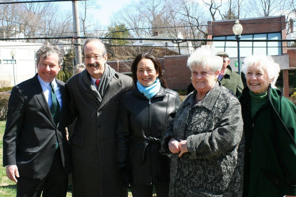 In April, Assemblyman Otis joined Congressman Elliot Engel and local officials to celebrate the opening and dedication of the Valerie O�Keefe Bocce Court at the Mamaroneck Senior Center.