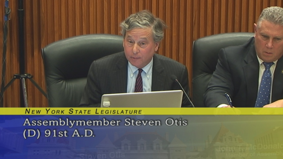 Assemblyman Otis Questions Peter Baynes, Executive Director of NYCOM on Funding Needs for Water Infrastructure Projects