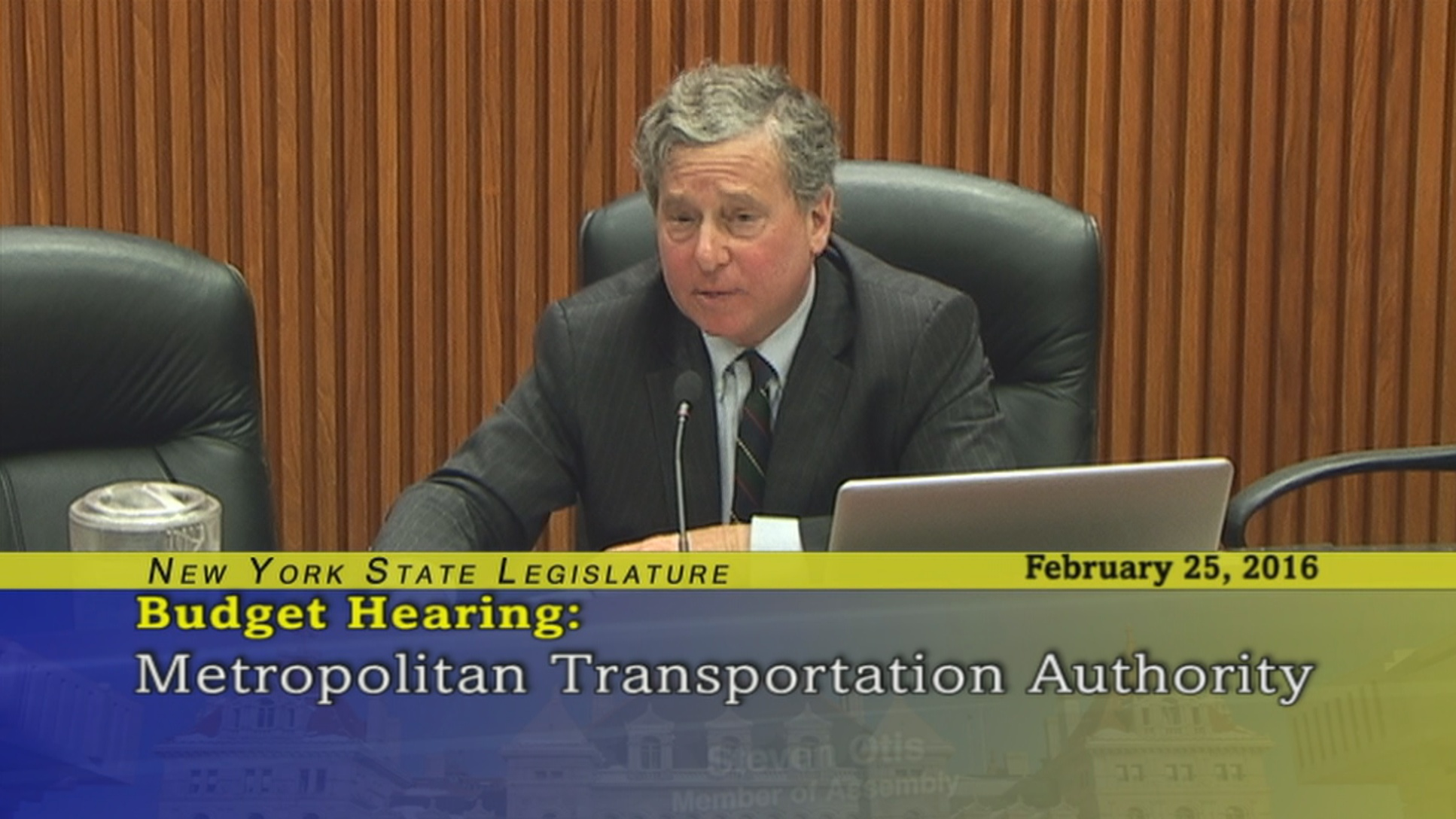 Assemblyman Otis Questions MTA Chairman Tom Prendergast About The Metro North