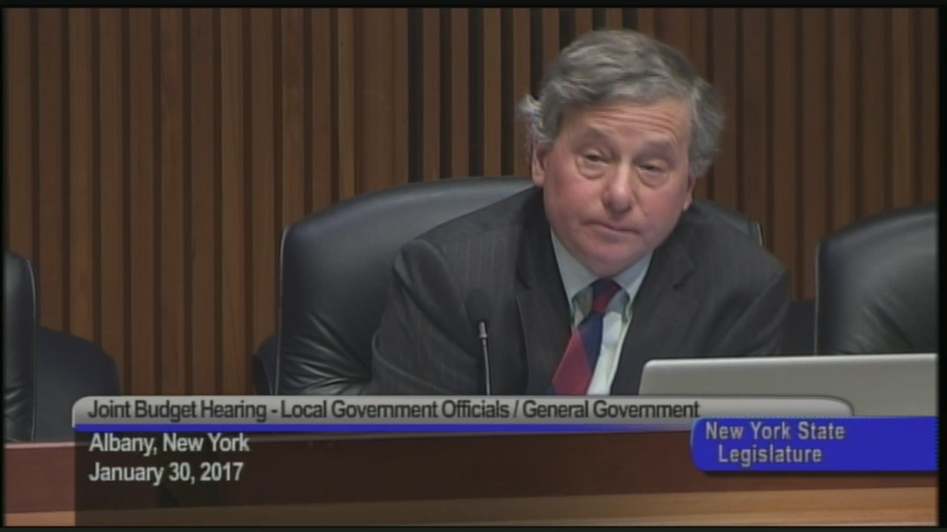 Assemblyman Otis questions City of Buffalo Staff
