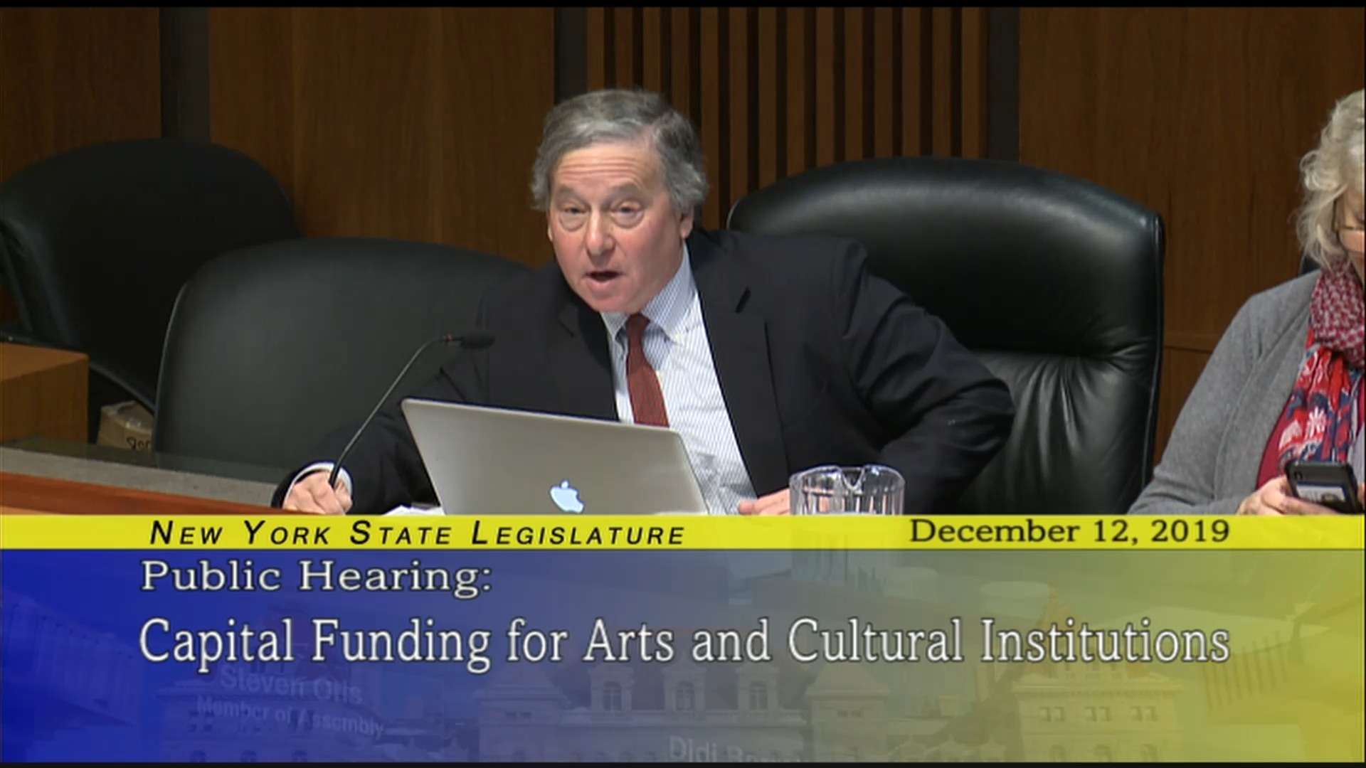 Public Hearing About Capital Funding For The Arts And Cultural Organizations (1)