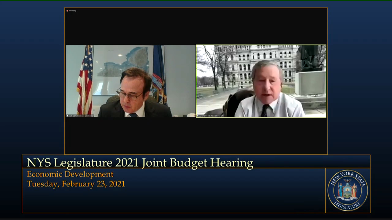 Otis Questions Economic Development Commissioner on Small Business Relief During Budget Hearing on Economic Development