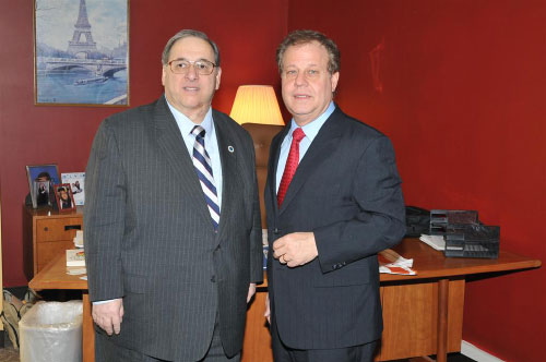 Assemblyman Abinanti and Mr. Anthony S. Cantore, Legislative Representative for Retired Public Employees Association.