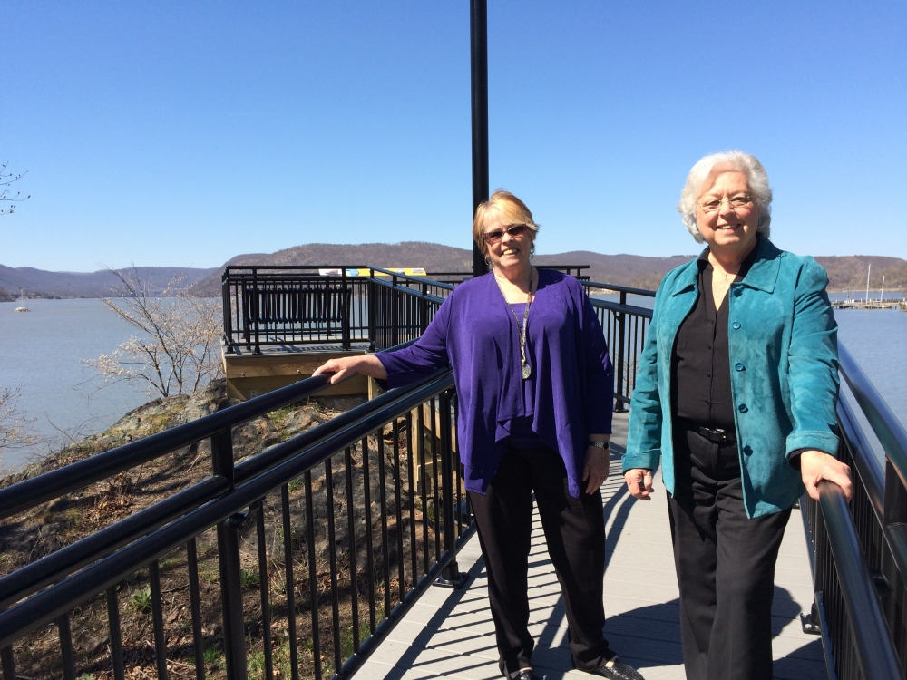 Sandy attended an event to celebrate the opening of a new attraction in Peekskill, the South Waterfront Park and Trailway, which is a beautiful space to enjoy the river.<br />