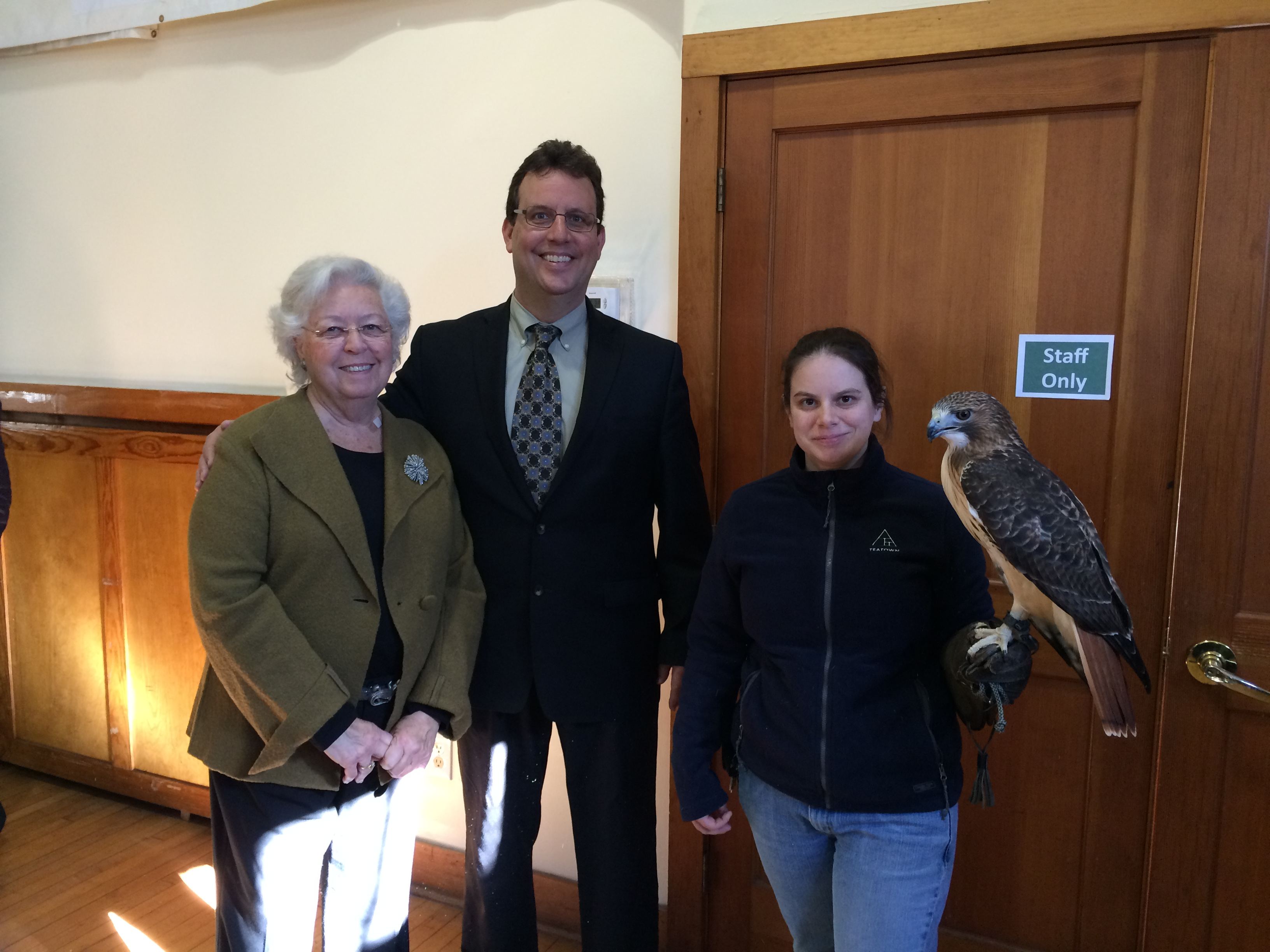Constituents of the feathered variety are highlighted at Teatown's annual Eaglefest. These neighbors are in need of special attention as we make decisions that affect our environment.