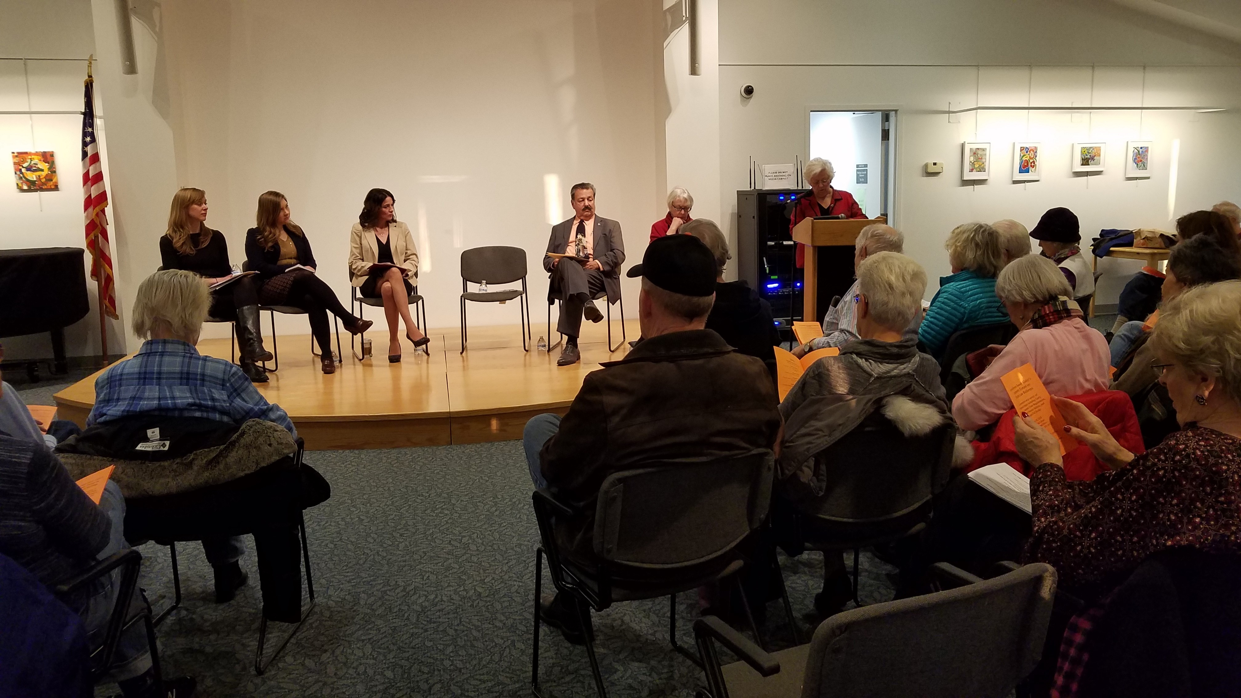 Amidst national scrutiny of voting laws and practices, Sandy held a public meeting to discuss various proposed and current methods of expanding voter access.