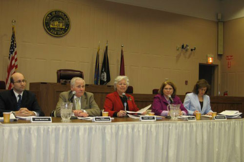 Sandy hosts Court Consolidation forum.