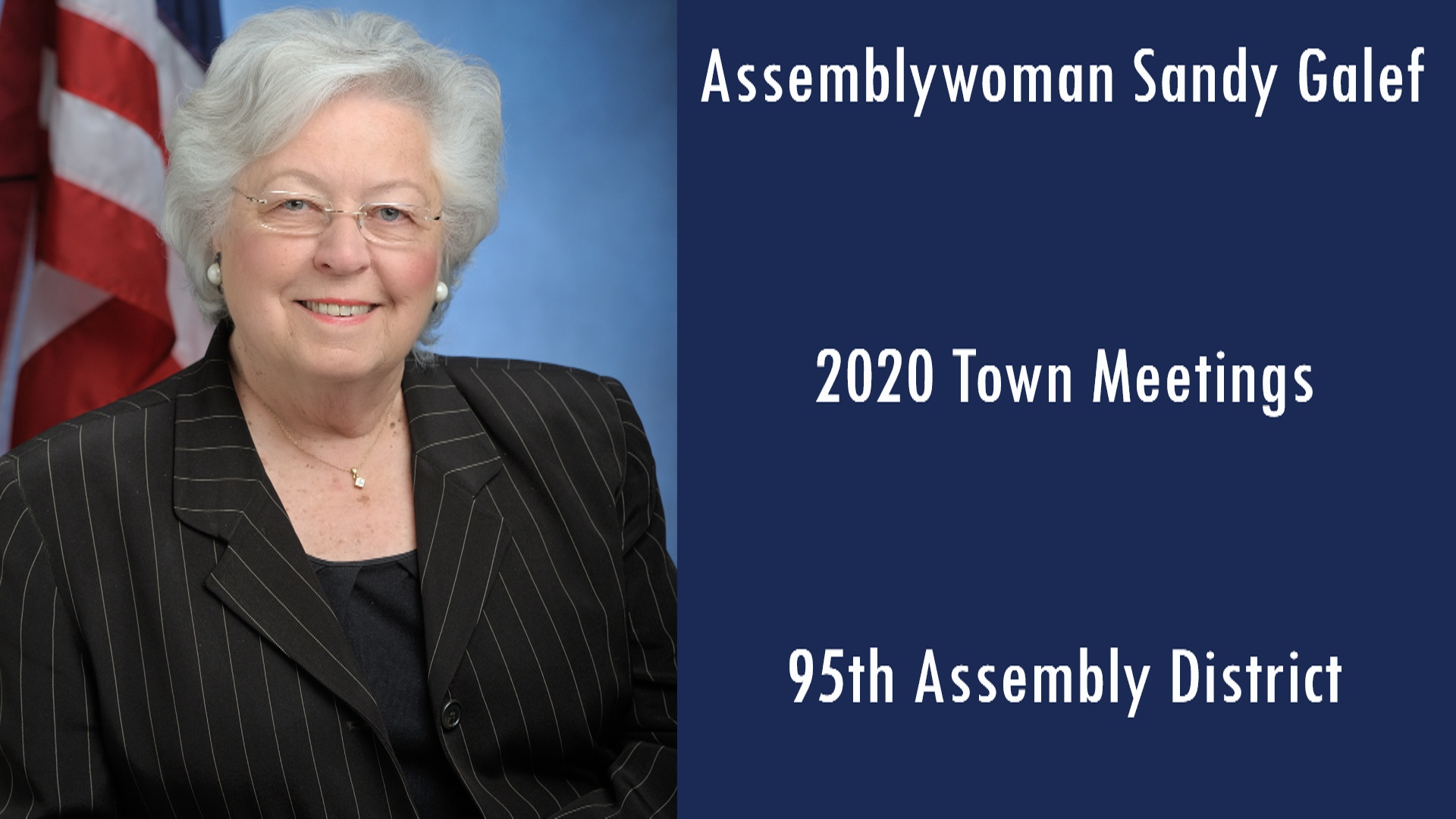 Assemblywoman Discusses Her 2020 District Events