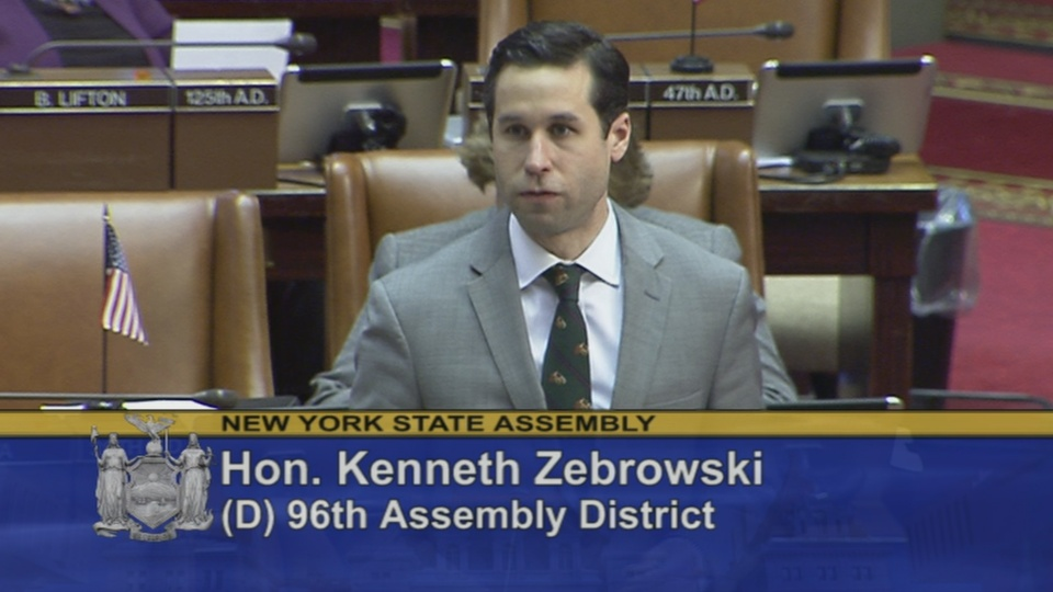 Zebrowski Welcomes Special Group from Rockland County