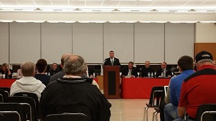 Assemblyman Karl Brabenec hosts heroin forum in Port Jervis.