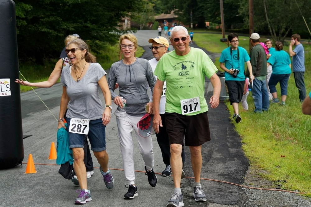 """At the Forestburgh 5K for Hospice of Orange and Sullivan counties"""