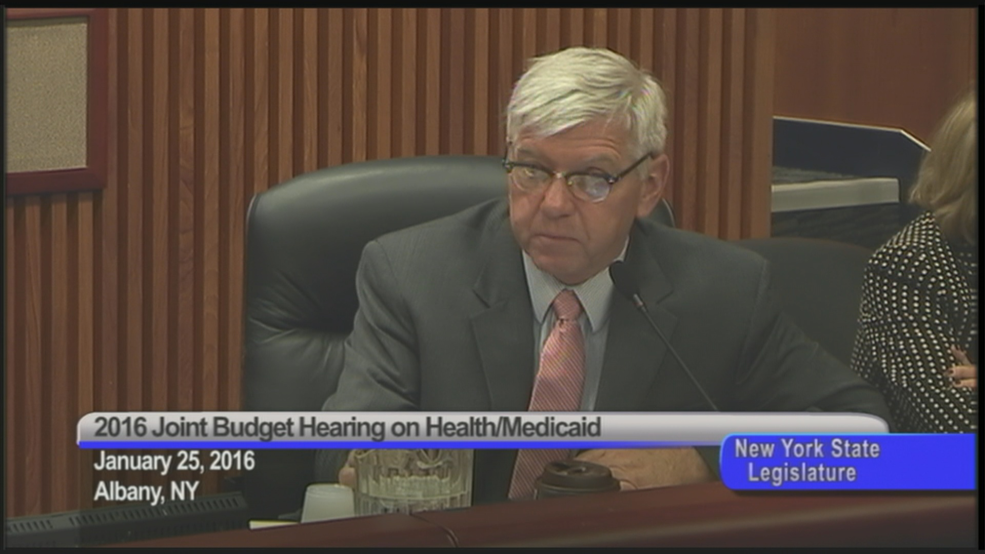 Cahill Questions NYS Dept. of Health Leaders