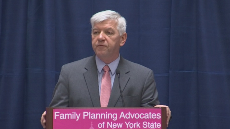 Cahill Supporting Family Planning
