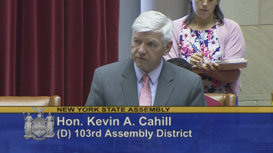 Assemblyman Cahill explains his vote on protecting reproductive health rights and services.