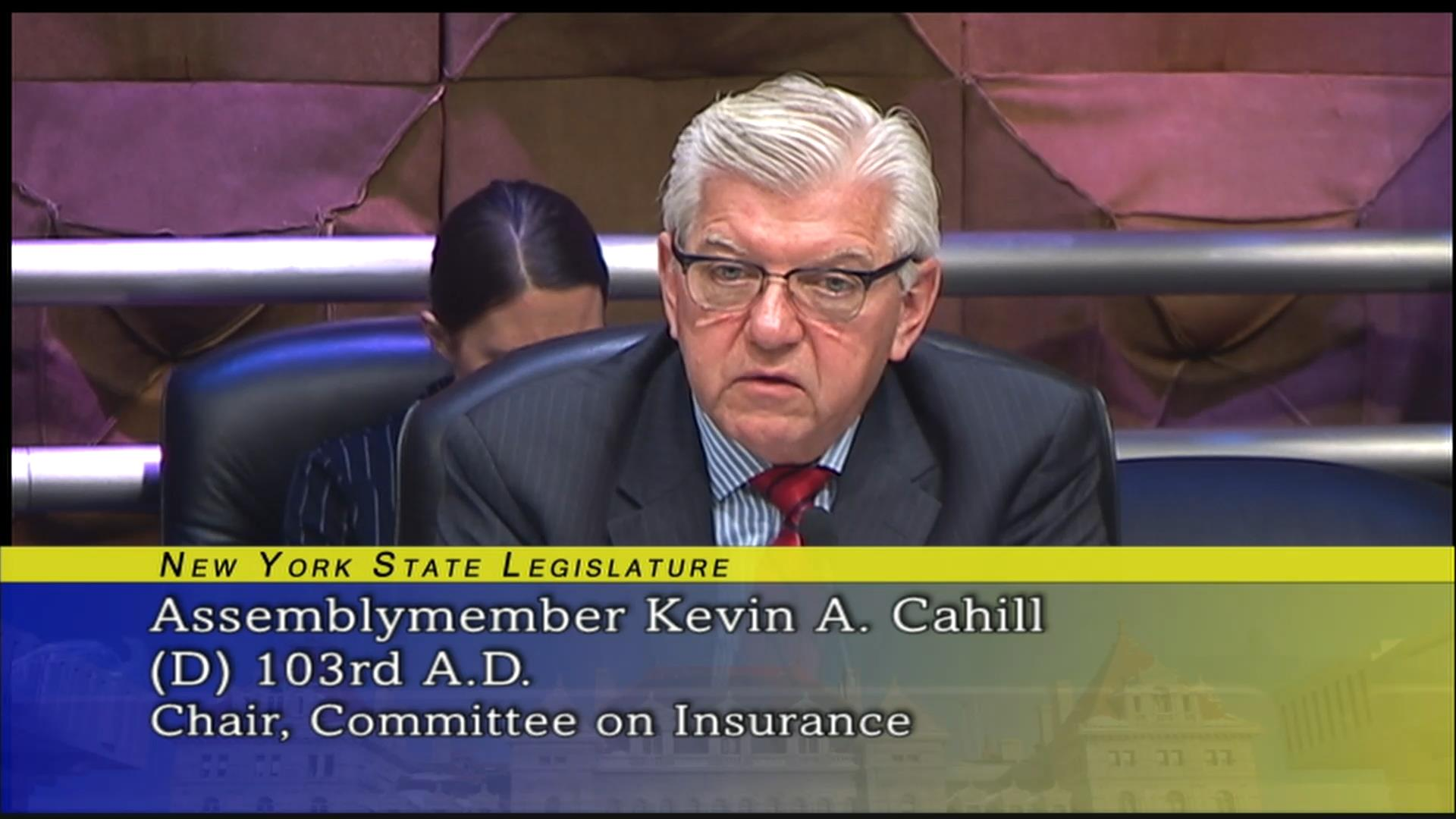 Assemblymember Kevin Cahill on Illegal Expenditures
