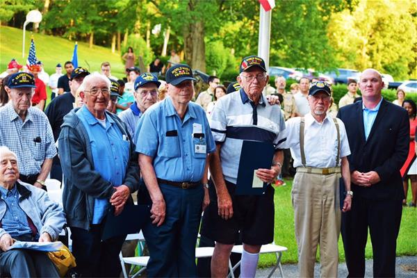 LaGrange, NY - (6/7/16) - Assemblyman Kieran Michael Lalor (R,C,I - East Fishkill) hosted his 3rd annual ceremony to honor local WWII veterans and commemorate the 72nd anniversary of D-Day yesterday.