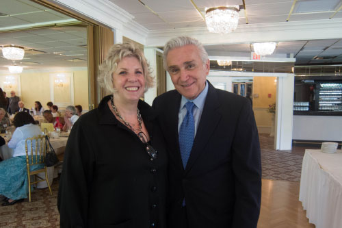 Assemblymember Didi Barrett and United States Representative Maurice Hinchey.