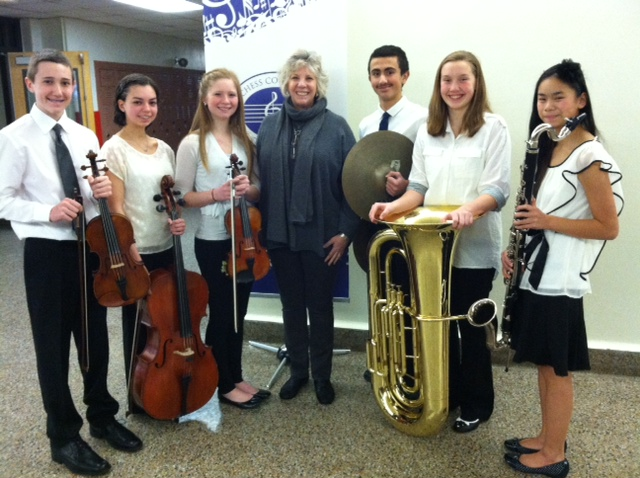 """I was thrilled to attend the Dutchess County Music Educators Association (DCMEA) Festival and see wonderful musical performances from some the Hudson Valley's most talented young musicians! It's important that we continue to value culture in our community and the role arts education plays in creating well rounded students."""