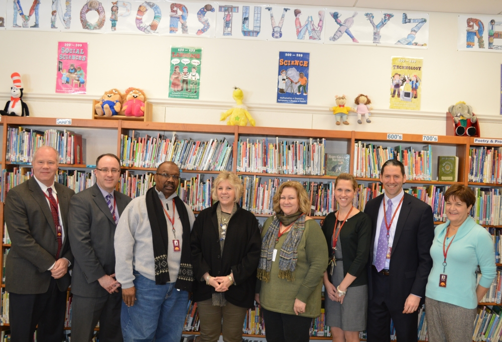 Assemblymember Didi Barrett visited Arlington Central School District on February 23 where she spoke with the Superintendent and board members about budget and education policy.