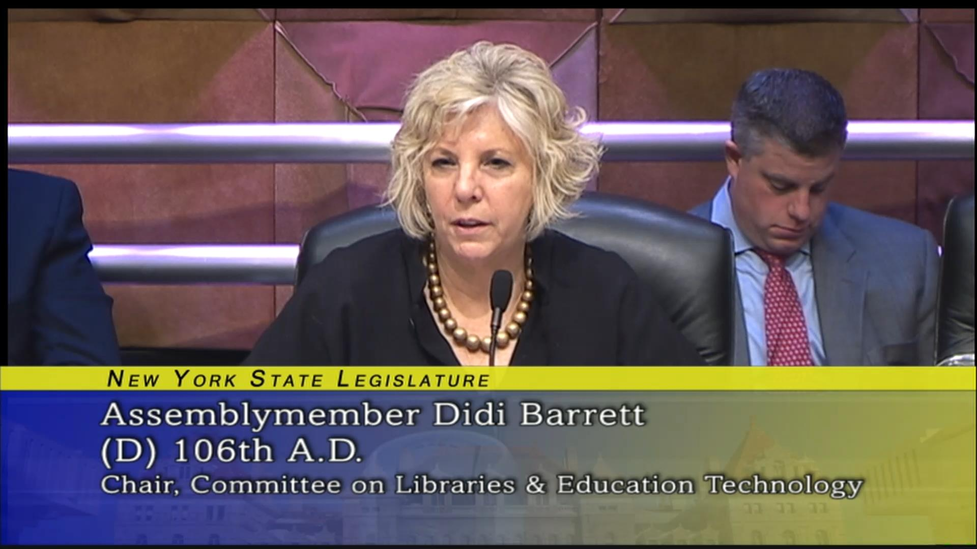 Working to Secure Necessary Library Infrastructure Funding