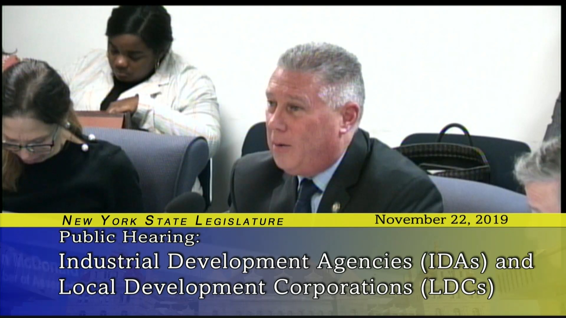 Public Hearing On IDA's and LDC's effectiveness