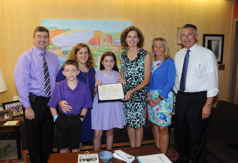 Assemblymember Fahy met with representatives of the Epilepsy Foundation of Northeastern NY in August, 2016.