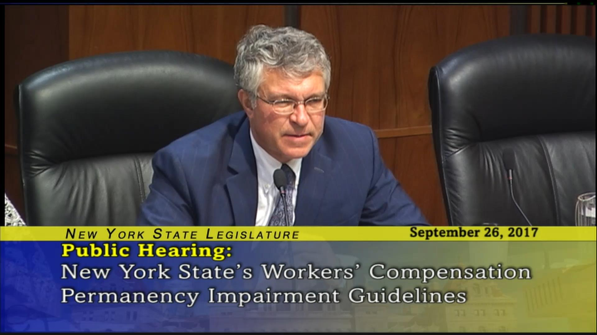 New York State's Workers' Compensation Permanency Impairment Guidelines