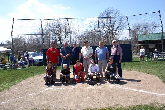 Opening day at Berne-Knox Little League.