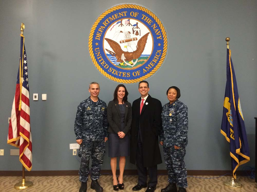 Visiting the Glenville Naval Base