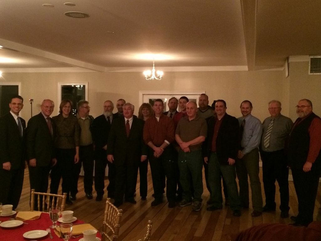 Assemblyman Santabarbara at the Mariaville Volunteer Fire Department Installation Dinner