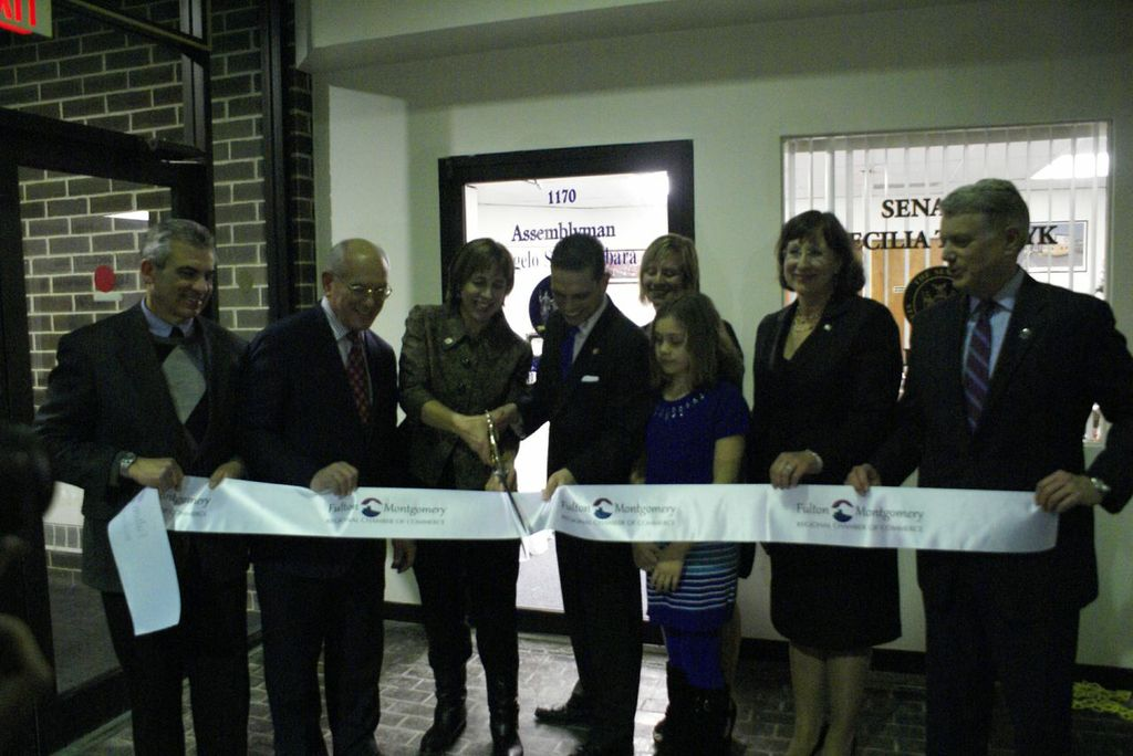 Amsterdam District Office Grand Reopening and Ribbon Cutting
