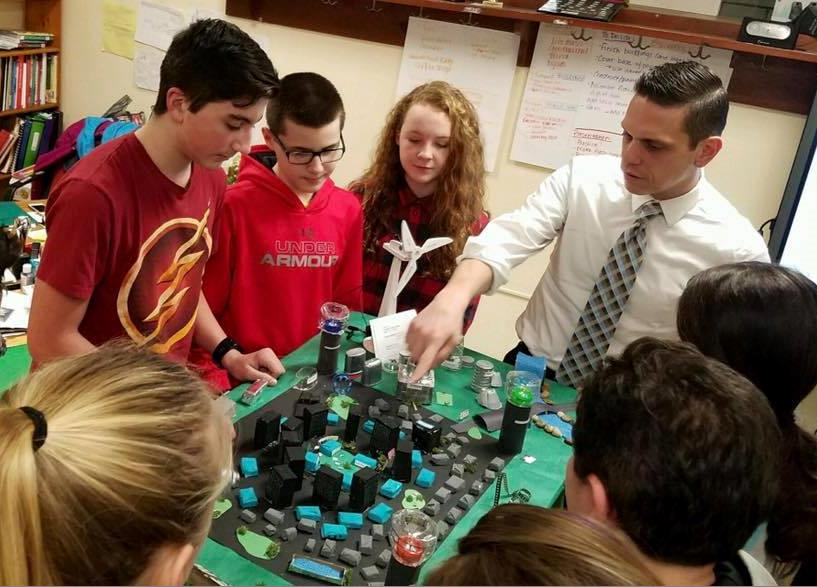 The Schalmont Middle School Future City Team is excited about engineering and improving our world! 1/19/17<br />&nbsp;