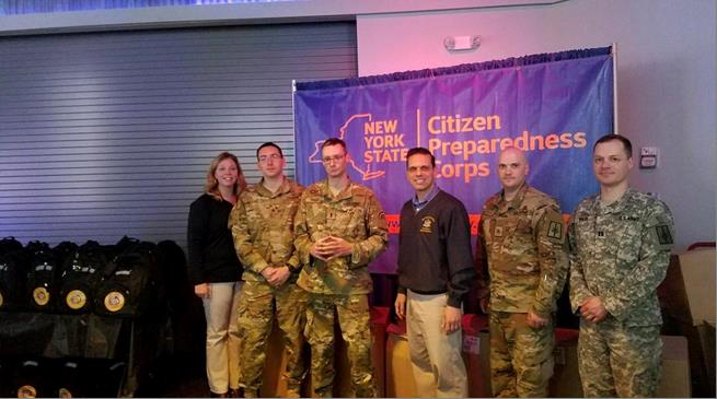 Citizens Preparedness Training at the ViaPort Mall in Rotterdam with the New York National Guard. Great to see more than 250 in attendance tonight! 5/12/17<br />&nbsp;