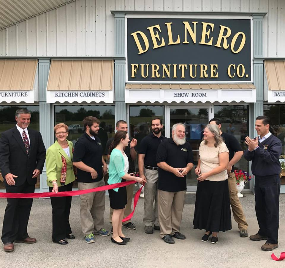 Assemblyman Santabarbara congratulates the Delnero family, on the grand opening of Delnero Furniture Company a 4th generation family, at their new location in the Village of Nelliston on August 29<sup>th</sup>, 2017.<br />&nbsp;