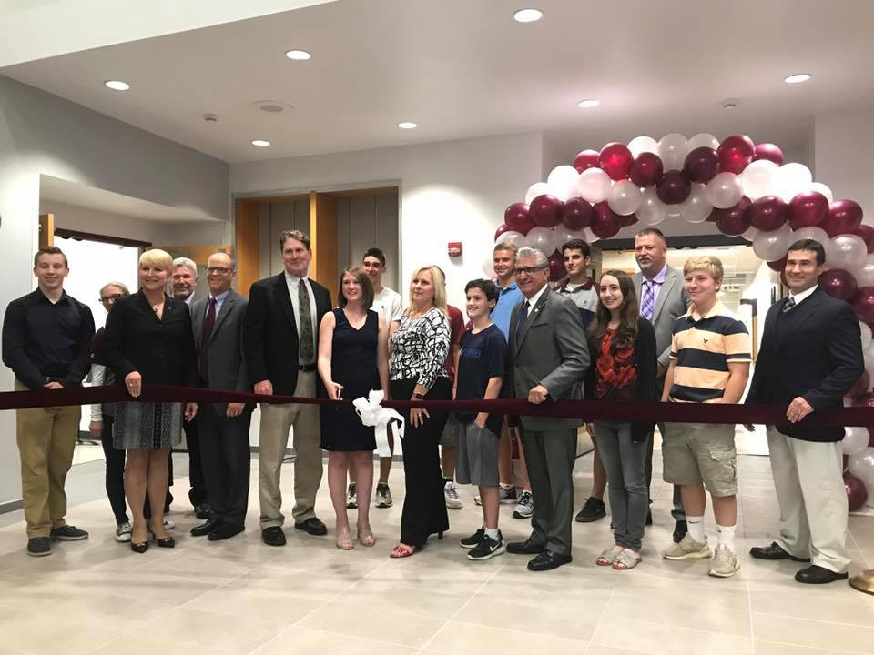 Assemblywoman Mary Beth Walsh participates in Burnt Hills-Ballston Lake's Science, Technology, Engineering, Arts and Math (STEAM) wing's Grand Opening.