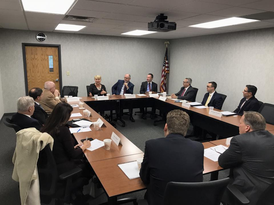 Thank you to the Capital Region Chamber Government Affairs Committee for inviting me to their meeting this morning! It was a pleasure meeting some of our region's business leaders, while also see