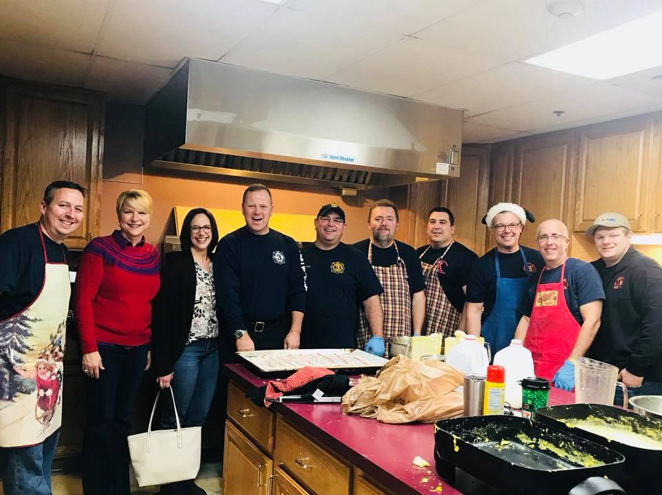 Thank you, East Glenville Fire Department for the great breakfast with Santa this morning!