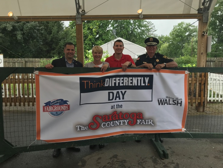ThinkDIFFERENTLY Day at the Saratoga County Fair on Thursday, July 26
