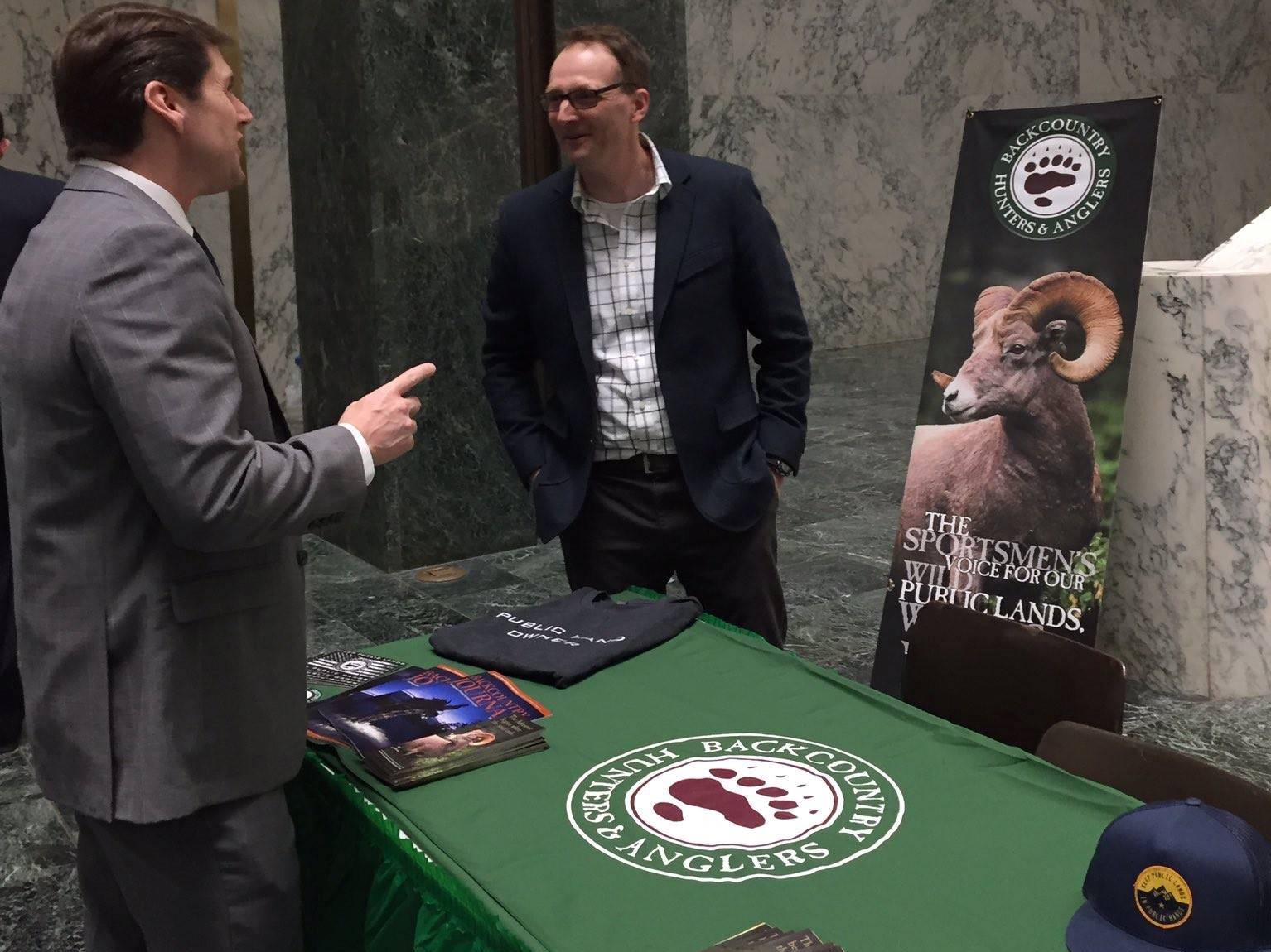 In March 2017, Assemblyman Jones learned more about the concerns of hunters, fishers and trappers in our state during the annual Sportsmen's Day in Albany.