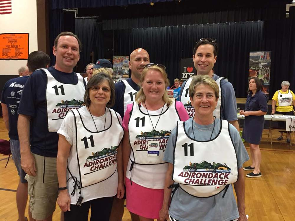 July 19, 2015 – Assemblywoman Lupardo and her colleagues won the rafting challenge at the annual Adirondack Challenge.