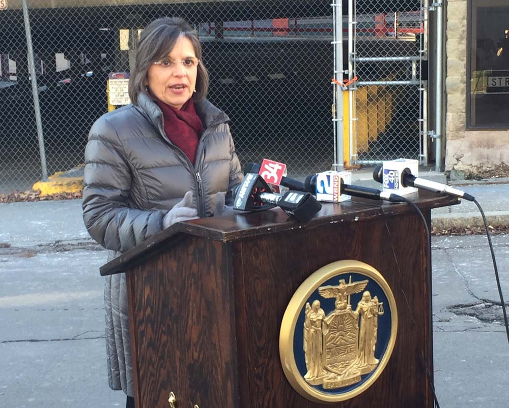 January 7, 2016 – Assemblywoman Lupardo announces details of two initiatives to increase the safety of parking structures throughout New York State.