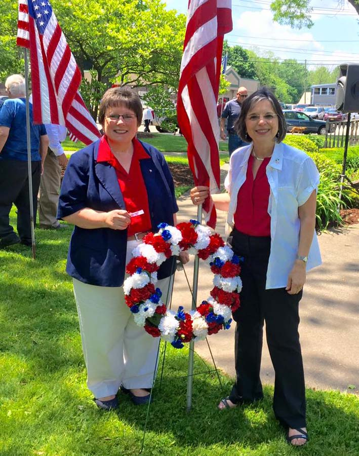 May 30, 2016 – Town of Vestal Councilwoman and Assemblywoman Lupardo at a Memorial Day ceremony in Vestal.