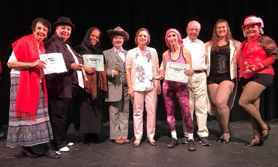 August 16, 2018 – The winners of the second annual Lip Sync Challenge presented by Action for Older Persons pose with Assemblywoman Lupardo.