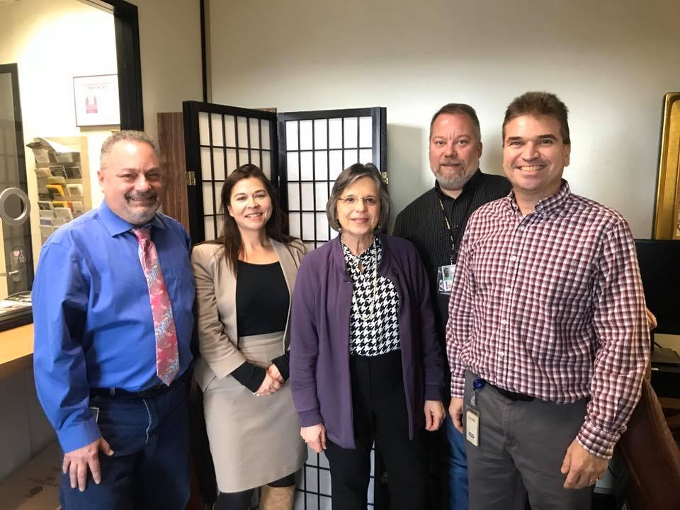 January 6, 2020 – Assemblywoman Lupardo meets with representatives from the Public Employees Federation (PEF).