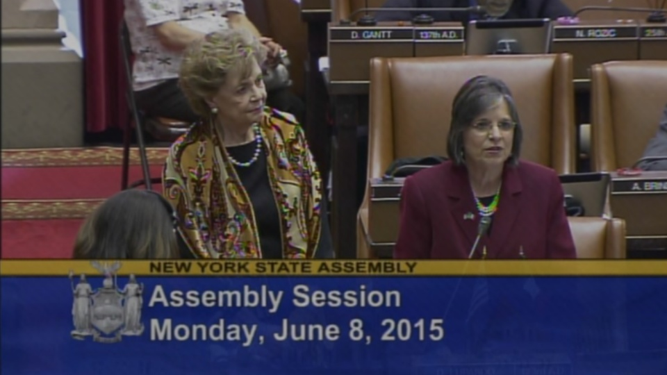 Former First Lady Cuomo Honored on the Assembly Floor