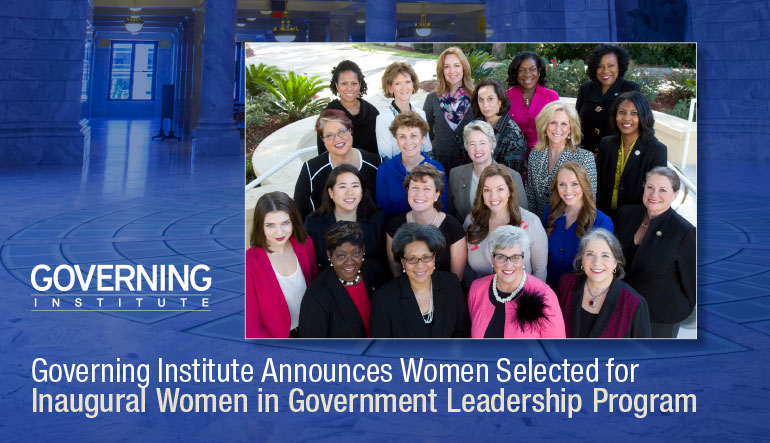 November 19, 2014 – Assemblywoman Crystal Peoples-Stokes and her colleagues in government selected for Inaugural Women in Government Leadership Program.