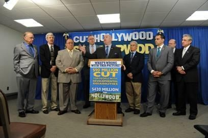 Assemblyman Goodell and colleagues call for the restoration of $90 million cut from developmentally disabled programs.